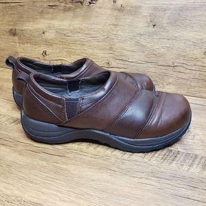 L.L. Bean Comfort Mocs Leather slip on shoes